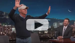 VIDEO: Michael Keaton Threatens to Walk Out on JIMMY KIMMEL Over 'Spiderman' Comment