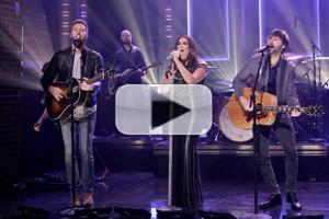 VIDEO: Lady Antebellum Performs 'Heart Break' on TONIGHT SHOW