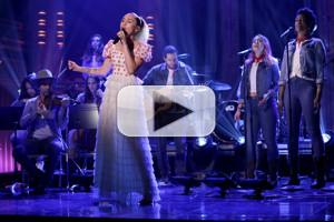 VIDEO: Miley Cyrus Performs 'Malibu' and 'Inspired' on TONIGHT SHOW