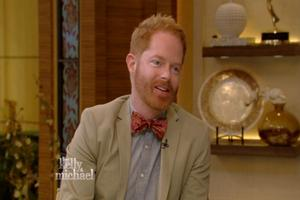 VIDEO: Jesse Tyler Ferguson Talks Performing THE TEMPEST in the Rain on 'Live'
