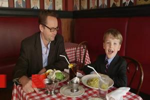 VIDEO: Six-Year-Old Theater Critic Iain Armitage Meets His Idol Michael Riedel