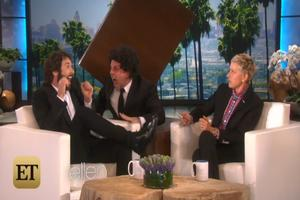 VIDEO: Sneak Peek - ELLEN Pulls a 'Scare' Prank on Josh Groban on Today's Show!