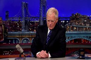 VIDEO: DAVID LETTERMAN Thanks Family, Staff & Fans in Emotional Farewell
