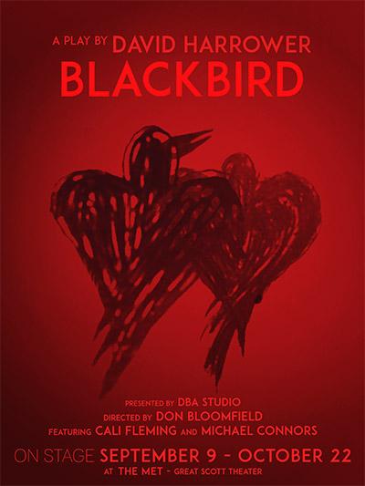 David Harrower's Dark Drama BLACKBIRD to Open 9/9 at The MET Theatre