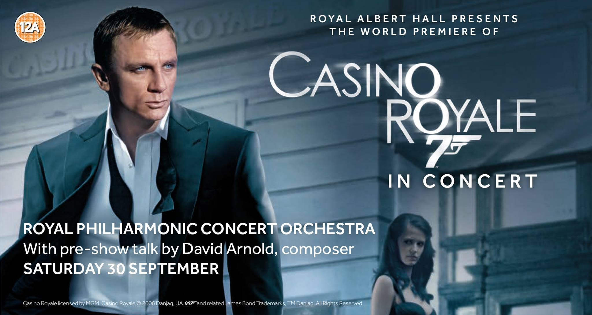 BWW Review: CASINO ROYALE IN CONCERT, Royal Albert Hall