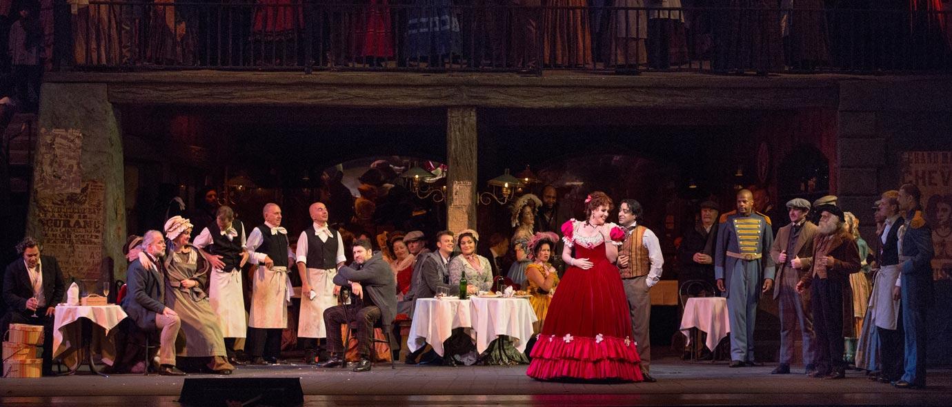 Review Roundup La Boheme At The Metropolitan Opera