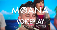 VIDEO: VOICEPLAY Premieres A Capella MOANA Medley Featuring Rachel Potter