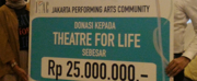 BWW Feature: JAKARTA PERFORMING ARTS COMMUNITY (JPAC) Donates To Theatre for Life