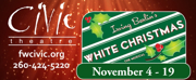 WHITE CHRISTMAS Opens at Civic Theatre 11/4
