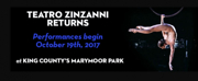 Teatro ZinZanni Announces Cast, On-Sale for Return to Marymoor Park