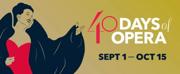 Utah Opera to Celebrate 40 Years with 40 DAYS OF OPERA Festival
