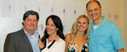 Photos: HONEYMOONERS Company Meets the Press at Paper Mill