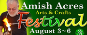 Judges Announced for Amish Acres 55th Anniversary Arts & Crafts Festival