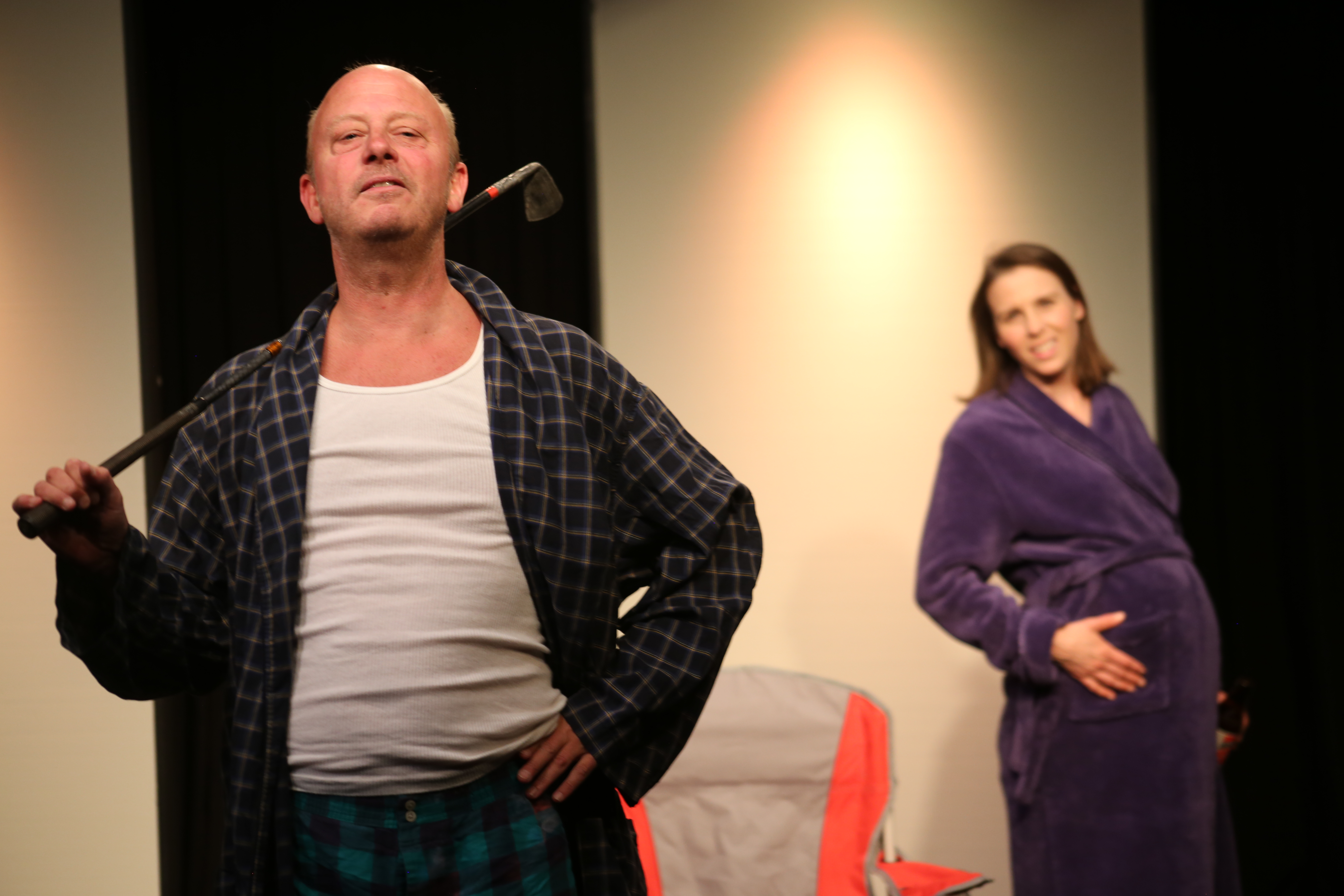 "BWW Review: Black comedy, ""An Impending Rupture of The Belly,"" insights at none-too-fragile"