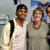 Photo Flash: Marymount Manhattan Visits Alum Michael Lee Brown at DEAR EVAN HANSEN
