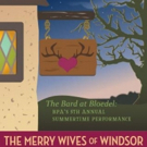BPA's The Bard at the Bloedel to Present THE MERRY WIVES OF WINDSOR