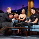 VIDEO: Lonzo Ball & Sonequa Martin-Green Play 'Taller Or Shorter' on LATE LATE SHOW Video