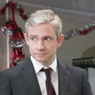 Photo Flash: First Look at Martin Freeman and Tamsin Greig in LABOUR OF LOVE Photo