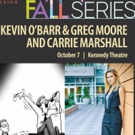Theatre Raleigh Hosts Fall Series with Kevin O'Barr, Greg Moore, and Carrie Marshall