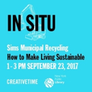 HOW TO MAKE LIVING SUSTAINABLE to Continue Creative Time and NPYL's 'In Situ' Series