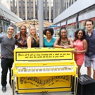 Photo Coverage: BEAUTIFUL Company Unveils Sing for Hope Piano!