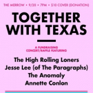 Annette Conlon to Perform at TOGETHER WITH TEXAS Hurricane Harvey Relief Benefit