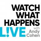 Scoop: WATCH WHAT HAPPENS LIVE on Bravo - 9/24-9/28