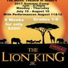 Music Theatre of Idaho Announces THE LION KING JR. Experience