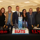 PHOTO: Cast of USA Network Legal Drama SUITS Celebrates 100th Episode