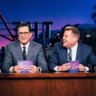 VIDEO: Stephen Colbert & James Corden Share 'Side Effects' of Being a CBS Host
