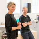 Photo Flash: In Rehearsals for LABOUR OF LOVE, Starring Martin Freeman and Tamsin Greig Photos