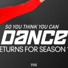 BWW Feature: Broadway's Ricky Ubeda and Amy Yakima Give Advice To This Season's Contestants of SO YOU THINK YOU CAN DANCE