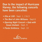 Houston Symphony Cancels Performances Due to Impact of Harvey Photo