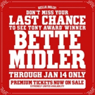Bette Midler Confirms Final Bow in Broadway's HELLO, DOLLY!