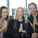 VIDEO: Marina Kamen's 'Musical Health Talk!' Broadcast brings Vocals, Violin and 'YOGA' Together with Master Yoga Trainers Angela Rauscher & Justin Randolph