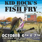 It's On – Kid Rock's 3rd Annual Fish Fry Announced For October