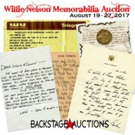 Willie Nelson Memorabilia Auction Features Handwritten Letters, Furniture & Music Related Collectibles