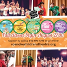 Roanoke Children's Theatre Academy to Kick Off Next Weekend