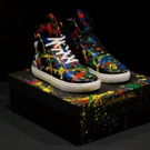 Def Leppard's Phil Collen Unveils Limited Edition 'Electric Splatter' Sneakers