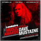 Sammy Hagar and Dave Mustaine Confirmed For Loudwire Music Awards