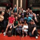 Pop Star Selena Gomez Visits A BRONX TALE on Broadway Video