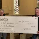 Engeman Theater Donates $25,000 to St. Paul's UMC Capital Campaign