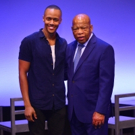 Photo Flash: NYMF's FREEDOM RIDERS Gets Visit From Real-Life Freedom Rider John Lewis