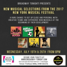 Meet the Creators of NYMF Musicals at BROADWAY Tonight! Showcase