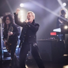 VIDEO: Billy Idol Performs Classic Song 'White Wedding' on LATE LATE SHOW