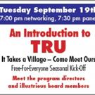 TRU Announces September Panel 'It Takes a Village - Come Meet Ours' Photo