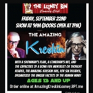 The Amazing Kreskin to Perform at The Looney Bin This September
