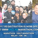 BMW Dallas Marathon Announces Partnership with Chipotle for 2017 Events