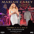 Mariah Carey to Return to The Colosseum at Caesars Palace for Christmas