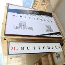 Up on the Marquee: M. BUTTERFLY Photo